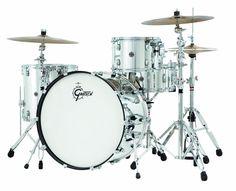 Gretsch Drums Catalina Club CC1-R444-MC 4-Piece Drum Shell Pack, Mirror Chrome
