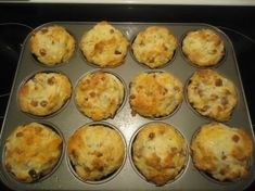 Ham and cheese muffins Salted Caramel Frosting, Salted Caramel Cheesecake, Salted Caramel Chocolate, Ham And Cheese Muffin Recipe, Cheese Muffins, Hot Fudge, Donut Recipes, Muffin Recipes, Krups Prep Cook