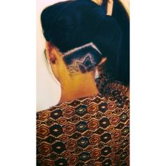 Lotus flower undercut design