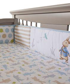 Love this Peter Rabbit Crib Bumper by Peter Rabbit on #zulily! #zulilyfinds