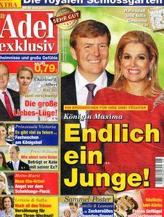 2014: König Willem-Alexander und Königin Maxima von Holland