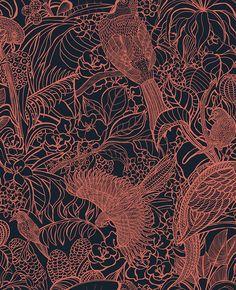 10 papiers peints faune et flore