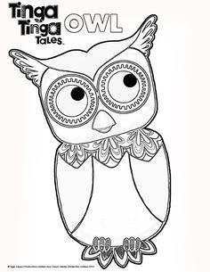 Black And White Picture Of Owl