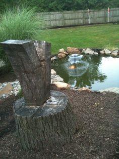 Backyard koi pond I built in the Summer of 2010!