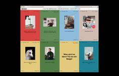 Identity and web design for Beige.de, Germany's first unisex online magazine. Design Web, Website Design, Sistema Visual, Layout Online, Online Magazine, Web Magazine, Design Magazine, Magazin Design, Packaging