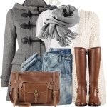 Duffle Coat Simple Winter Outfit
