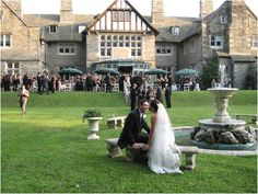 Greystone Hall in West Chester....location of my future wedding reception