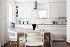 STIL INSPIRATION: Varm minimalism  JM AB dispaly apartment 2013