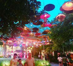 Instagram의 여행스타그램님:  너무 예뻤던 하노이 뷔페  - 또 가고 싶당  - #vietnam #hanoi #하노이 #선교여행 #호떠이 #센 #sen #뷔페 #디저트 #대박 #하노이맛집 #연꽃 #갓 #전등 # #