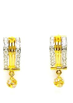 New Gold Earrings/Drops/Bali/Stud Different Design 22ct(916 Pure) Bis Hallmarked