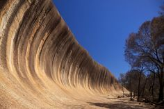 Climb and Surf together :) Wave Rock, Hyden in Western Australia