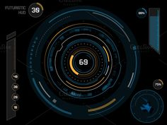 """Buy the royalty-free Stock vector """"Futuristic sci-fi virtual touch user interface HUD elements"""" online ✓ All rights included ✓ High resolution vector fi. Design Typography, Typography Fonts, Illustrations, Graphic Illustration, Graphic Art, Graphic Design, Texture Web, Game Interface, Best Background Images"""