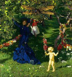 Strange Garden by Jósef Mehoffer