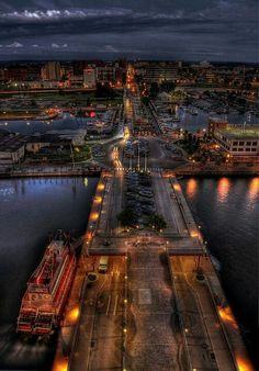 Erie, Pennsylvania Passed through a lot and went for a day but I want more!!