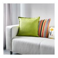 IKEA - GURLI, Funda de cojín, Como tiene cremallera, te resultará fácil sacar la funda.