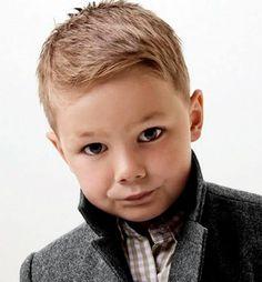 Very short toddler boy haircut