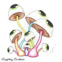 """""""Eye See PsYcHeDeLiC Mushrooms"""" by CrYpToZ"""