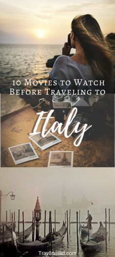 Dreaming of #Italy? It's no secret that travel moves us, and so does a good film, novel, or epic TV series (thank you Game of Thrones!). Cinematographers make Italy look irresistable, and these 10 movies are no exception - old favorites and new ones I guarantee you'll love - to get you dreaming and scheming of your next trip to la bella #Italia! | Movies to watch before visiting Italy, travel inspiration, movies to inspire wanderlust, #wanderlust #wanderlusttravel