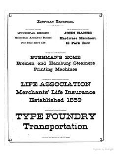 The Cincinnati Type Foundry Co's specimen and p...