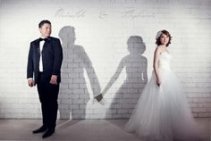 Great idea for your Prewedding picture. Photo by Light Culture Gallery https://www.facebook.com/lightculturegallery