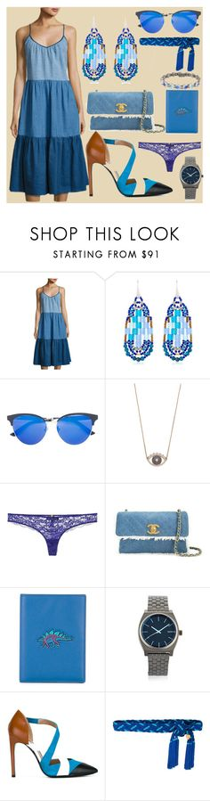 """Follow this"" by camry-brynn ❤ liked on Polyvore featuring M.i.h Jeans, Ziio, Gucci, Kenzo, Versace, Chanel, Coach, Nixon, Pollini and Yves Saint Laurent"