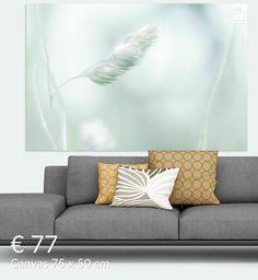 Nieuw in mijn Werk aan de Muur shop: zwevend op de wind Sofa, Couch, Love Seat, Throw Pillows, Canvas, Bed, Furniture, Home Decor, Tela