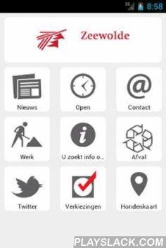 Gemeente Zeewolde  Android App - playslack.com , Officiële app van gemeente Zeewolde met onder andere het laatste nieuws, informatie over openingstijden en afval en contactinformatie.