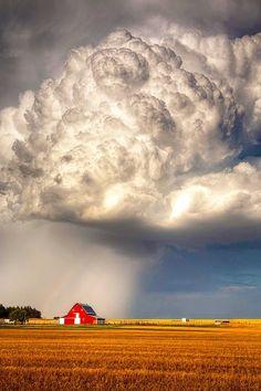 Thunderstorm in Nebraska