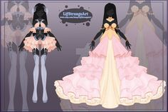 [Close] Adoptable Outfit Auction 63-64 by LifStrange.deviantart.com on @DeviantArt