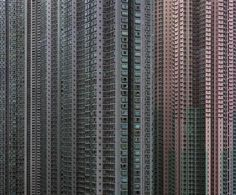 Graphic urban landscape...  facades-of-Hong-Kong-Michael-Wolf-photography-15