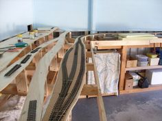 John Montgomery (Australia) - On30 DCC Layout under Construction.