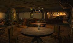 tavern fantasy interior concept bar prompts backgrounds concepts kitchen story uploaded user cave setting episode