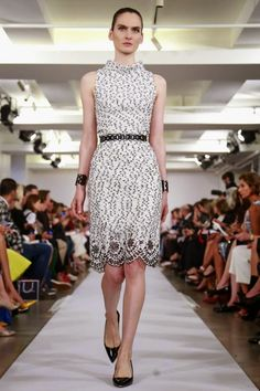 OSCAR DE LA RENTA - Spring Summer 2015 - New York Fashion Week