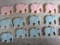 Galletitas elefante con fondant Ice Tray, Silicone Molds, Fondant, Cooking, Sweet Treats, Baking Center, Brewing