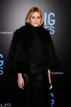 The Olivia Palermo Lookbook : Olivia Palermo at the Big Eyes Premiere in New York City.