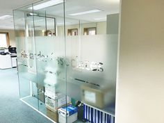 From Glass At Work: Acoustic Glass Partitions for Alexander Associates in Westerham, Kent.