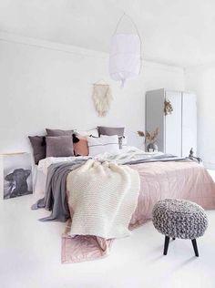 10 ways to create a cozy bedroom decorate bedroom, home deco Dream Bedroom, Home Bedroom, Bedroom Decor, Bedroom Ideas, Bedroom Designs, Bedroom 2017, Nordic Bedroom, Apartment Bedrooms, Wooden Bedroom