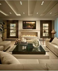 Modern Living Room Designs 21 Most Wanted Contemporary Living Room Ideas Elegant Living Room, Cozy Living Rooms, Living Room Modern, Living Room Interior, Living Room Designs, Small Living, Apartment Living, Living Area, Sitting Rooms