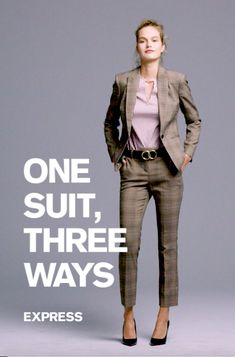 Build the perfect wear-to-work look: 1. Pick a dress pant or skirt 2. Pair with a matching jacket or mix it up 3. Add the must-have office shoe 4. Top off with the essential accessories
