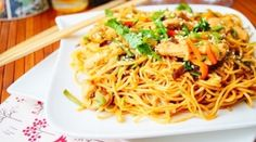 Recipe for fried noodles with shrimps and vegetables - .- Recipe for fried noodles with shrimps and vegetables – # shrimps # vegetables Fried Noodles Recipe, Shrimp And Vegetables, Asian Chicken, Mediterranean Recipes, Nutella, Chicken Recipes, Spaghetti, Dishes, Ethnic Recipes