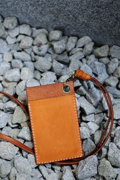 Artemis Leatherware Hand Stitched Leather Card Holder/ Badge