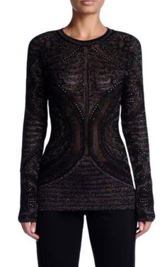 Shirt Metallic Effekt Shirts, Blouse, Long Sleeve, Sleeves, Tops, Women, Fashion, Moda, Women's