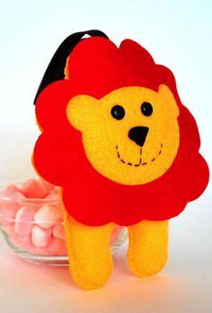 Baby lion pdf sewing pattern