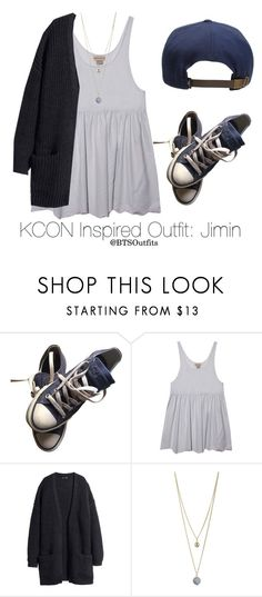 """Inspired Outfit for KCON: Jimin"" by btsoutfits ❤ liked on Polyvore featuring Converse, Dorothy Perkins and O'Neill"