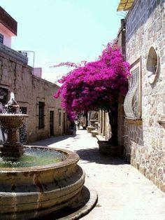 Callejón del Romance en #Morelia, #Michoacán, #Mxico. No te pierdas su leyenda Maravillas de México! Romance Alley in Morelia, Michoacan, Mexico. Do not miss their legend Tour By Mexico - Google+