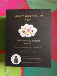 Grow Gorgeous Hair Density Serum Intense 60Ml 2 Fl Oz For Thinning Hair FRESHEST  | eBay