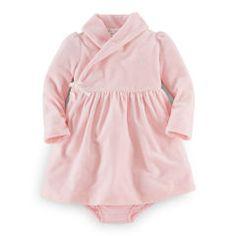 Cotton Velour Dress & Bloomer - Baby Girl Dresses & Skirts - RalphLauren.com