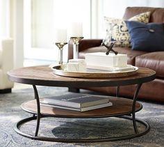 Bartlett Reclaimed Wood Coffee Table | Pottery Barn