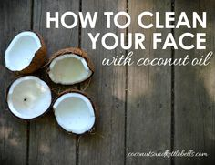 While it may seem counterintuitive to look to coconut oil to clean your face, doing so is quite possibly the purest, most effective way to remove dirt, impurities and yes - even oil from your face.