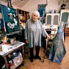 The wonderful Mary Fedden, in her studio -The artist Mary Fedden, who has died aged 96, was renowned for her modest-sized still lifes that combined a richness of colour and texture with perfect balance. Matisse and Braque were often cited as influences on the artist, whose mature style was rooted in the European tradition of belle peinture, or beautiful painting